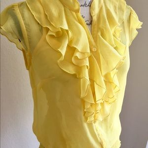 NWOT! IZ Byer blouse with cami